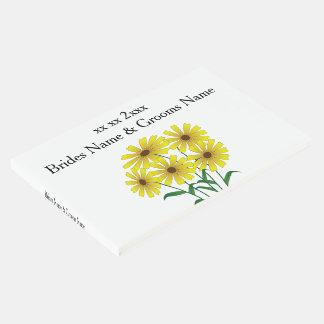 Ideias elegantes simples modernas do casamento da livro de visitas