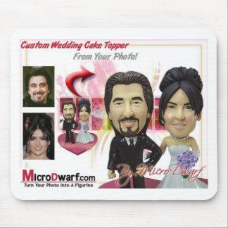 Ideias personalizadas dos presentes de casamento mouse pad
