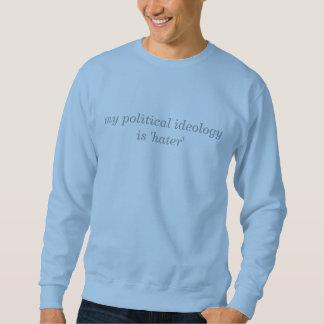 ideologia política moletom
