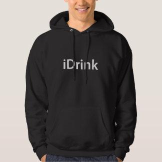 iDrink Moleton Com Capuz