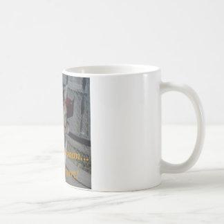 Ignorando o ser humano caneca de café