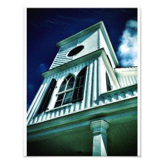 Igreja africana, Beaufort, South Carolina Impressão De Foto