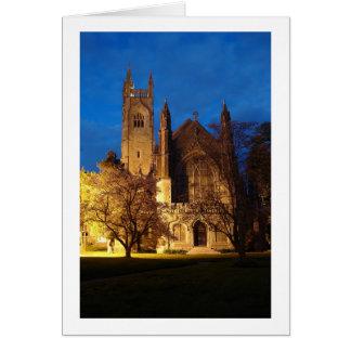 Igreja Cartão Comemorativo