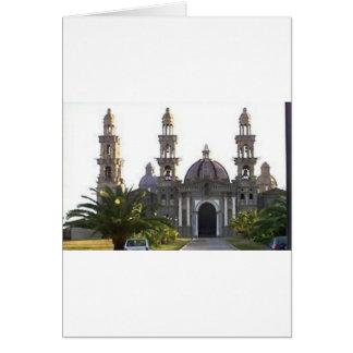 Igreja Católica de Palmarian Cartão Comemorativo