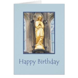 Igreja Católica de St Mary - cartão do feliz anive