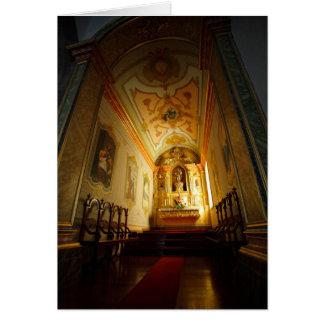 Igreja Católica portuguesa Cartão Comemorativo