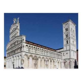 Igreja católico romano da basílica cartão postal