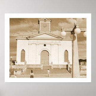 Igreja de San Sebastian, história, Puerto Rico Póster