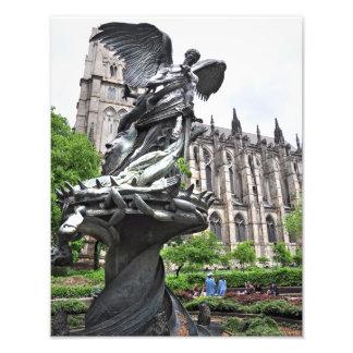 Igreja divina de St John da fonte da paz Impressão Fotográfica