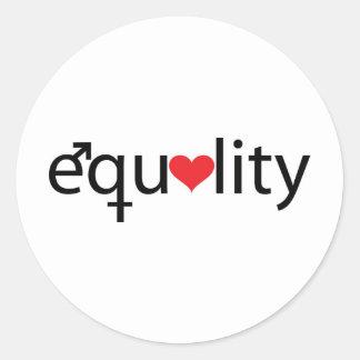 Igualdade Adesivo