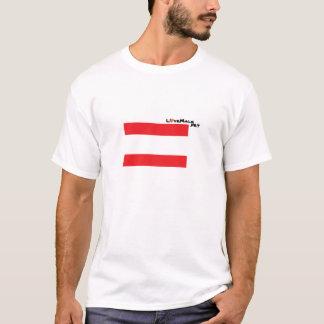 Igualdade do casamento t-shirt
