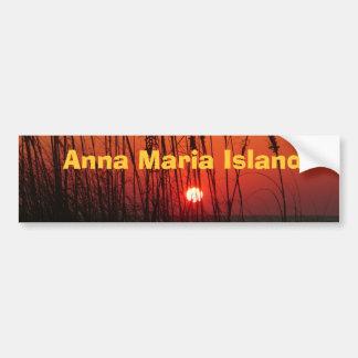 Ilha de Anna Maria Adesivo Para Carro