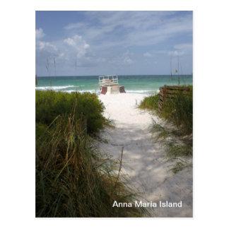Ilha de Anna Maria Cartão Postal