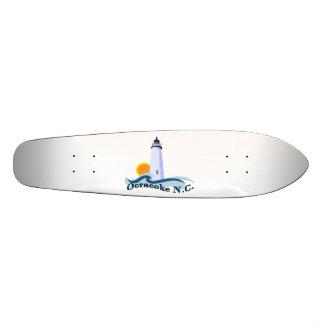 Ilha de Ocracoke Shape De Skate 20cm