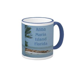 Ilha Florida de Anna Maria Caneca Com Contorno