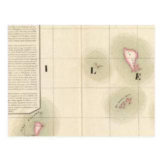 Ilhas de Caroline Oceania nenhuns 8 Cartão Postal