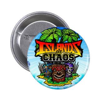 Ilhas do botão do caos bóton redondo 5.08cm