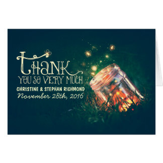 Ilumina cartões de agradecimentos sonhadores do