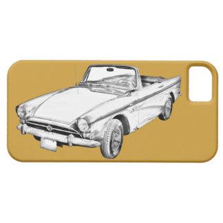 Ilustração alpina do carro de 5 esportes capas para iPhone 5