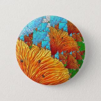 Ilustração coral bóton redondo 5.08cm