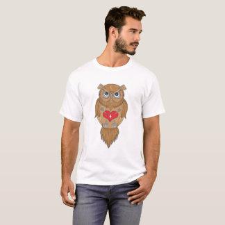 Ilustração da coruja t-shirts