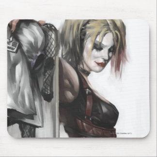 Ilustração de Harley Quinn Mouse Pad