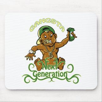 ilustração do vetor da próxima geração do gansta mouse pad
