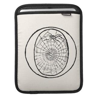 Ilustração do vintage da letra O Bolsas Para iPad