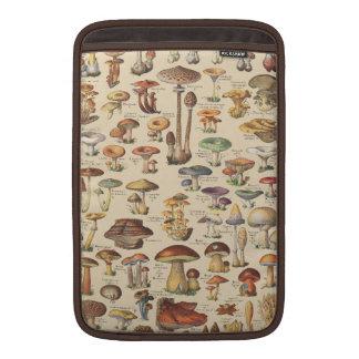 Ilustração do vintage dos cogumelos bolsa de MacBook