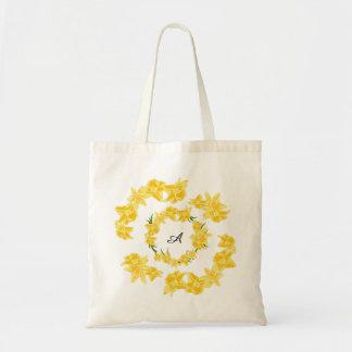 Ilustração dos Daffodils Bolsa Tote