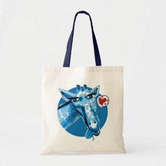 ilustração engraçada do estilo bonito dos desenhos bolsa tote