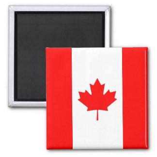 Ímã com a bandeira de Canadá Ímã Quadrado