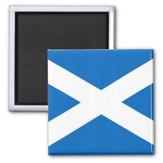 Ímã com a bandeira do Scotland Ímã Quadrado