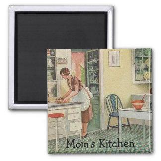 Ímã da cozinha da mãe ímã quadrado