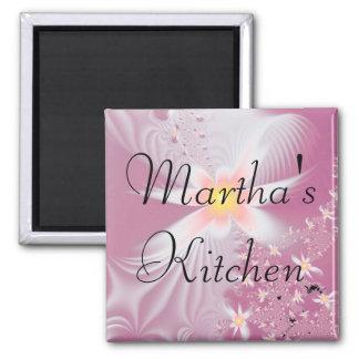 Ímã da cozinha de Martha Ímã Quadrado