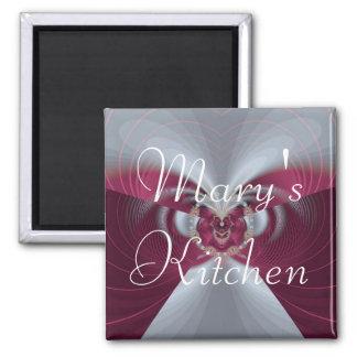 Ímã da cozinha de Mary Ímã Quadrado