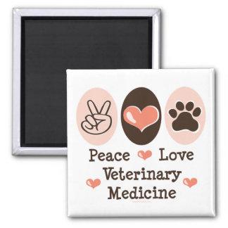 Ímã da medicina veterinária do amor da paz imas