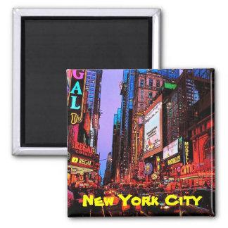 Ímã da Nova Iorque Ímã Quadrado