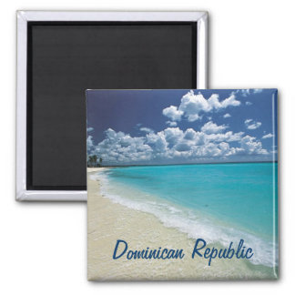 Ímã da República Dominicana Ímã Quadrado
