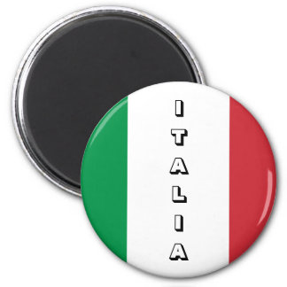 Ímã de Italia Ímã Redondo 5.08cm