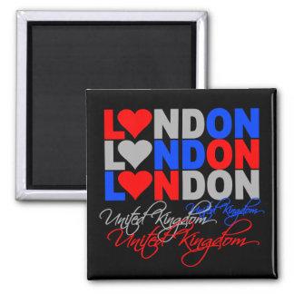 Ímã de Londres Ímã Quadrado