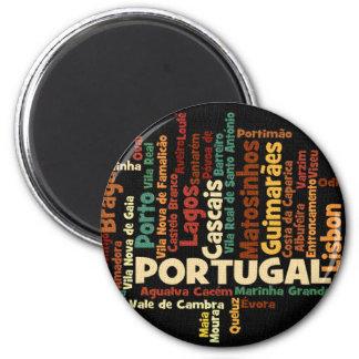 Ímã de PORTUGAL Ímã Redondo 5.08cm