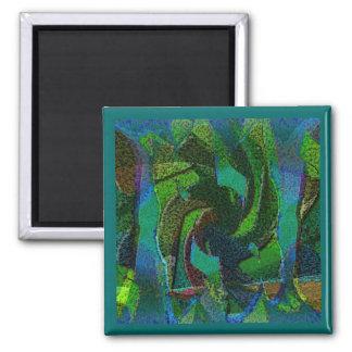Ímã do antro das naturezas ímã quadrado
