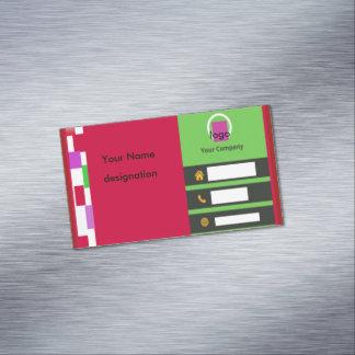 Ímã do cartão de visita