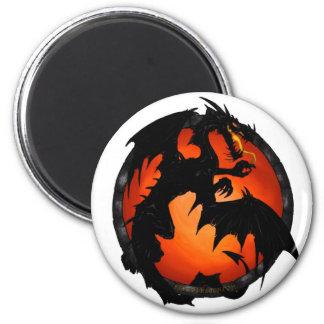 Ímã do dragão do círculo ímã redondo 5.08cm