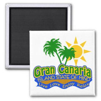Ímã do estado de ânimo de Gran Canaria Ímã Quadrado