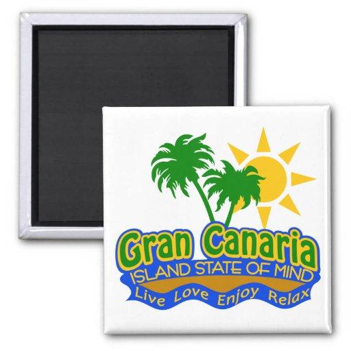 Ímã do estado de ânimo de Gran Canaria Ima De Geladeira