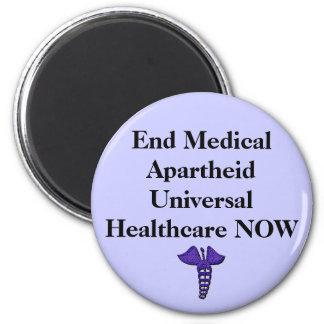 Ímã médico do Apartheid do fim Ímã Redondo 5.08cm