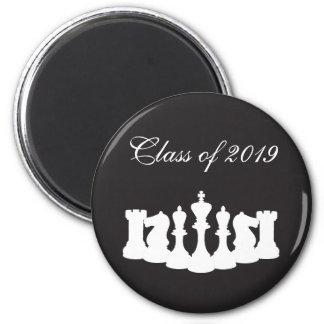 Ímã personalizado da graduação da xadrez imãs de refrigerador