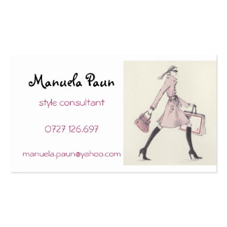 Imagem 5, Manuela Paun, consultante do estilo, Cartão De Visita
